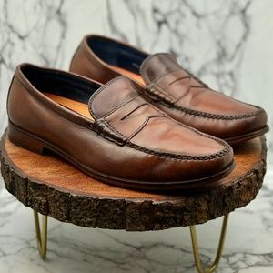 Cole Haan Shoes - Cole Haan Men's Leather Slip-on Penny Loafers